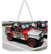 Jurassic Park Jeeps Weekender Tote Bag