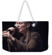 Karin Bergquist Lead Singer Of Over The Rhine Weekender Tote Bag