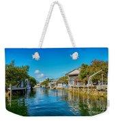 Key Largo Canal 3 Weekender Tote Bag