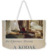 Kodak Advertisement, 1914 Weekender Tote Bag