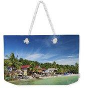 Koh Rong Island Beach Bars In Cambodia Weekender Tote Bag