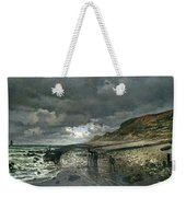 La Pointe De La Heve At Low Tide Weekender Tote Bag