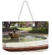 La Purisima Fountain Weekender Tote Bag