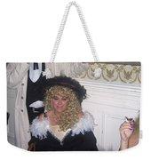 Lady And Gent Homage Celebrants Crystal Palace Saloon Tombstone Arizona 1932-2004 Weekender Tote Bag