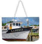 Lady Eva Weekender Tote Bag