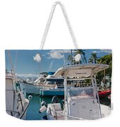 Lahaina Marina Maui Hawaii Weekender Tote Bag