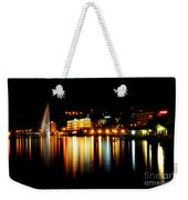 Lake At Night Weekender Tote Bag