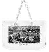Lake Erie - 1815 Weekender Tote Bag