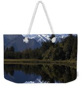 Lake Matheson New Zealand Weekender Tote Bag