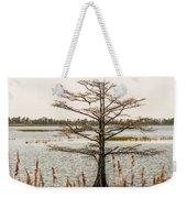 Lake Mattamuskeet Nature Trees And Lants In Spring Time  Weekender Tote Bag