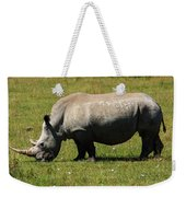 Lake Nakuru White Rhinoceros Weekender Tote Bag