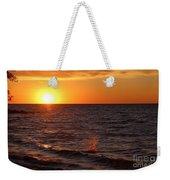 Lake Ontario Sunset Weekender Tote Bag