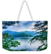Lake Santeetlah In Great Smoky Mountains North Carolina Weekender Tote Bag