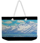Lake Tahoe After The Storm Triptych Weekender Tote Bag
