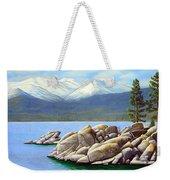 Lake Tahoe Sand Harbor Weekender Tote Bag