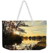 Lake Wausau Sunset Weekender Tote Bag