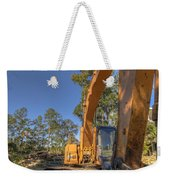 Cat Excavator  Weekender Tote Bag