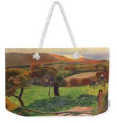 Landscape From Bretagne Weekender Tote Bag