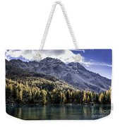 Larch Pine Reflections Weekender Tote Bag