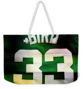 Larry Bird Weekender Tote Bag by Marvin Blaine
