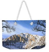 Laurel Mt And Convict Lake Sierra Weekender Tote Bag