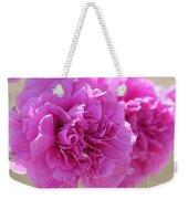 Lavender Carnations Weekender Tote Bag