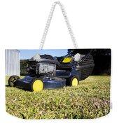 Lawn Mower Weekender Tote Bag