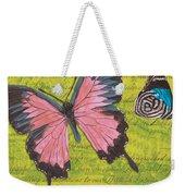 Le Papillon 2 Weekender Tote Bag