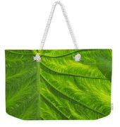 Leafy Green Weekender Tote Bag