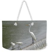 Learning To Fish Weekender Tote Bag