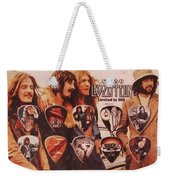 Led Zeppelin Art Weekender Tote Bag