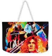 Led Zeppelin Art Weekender Tote Bag