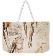 Leonardo: Anatomy, C1510 Weekender Tote Bag