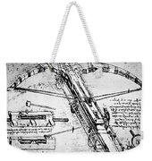 Leonardo: Invention Weekender Tote Bag
