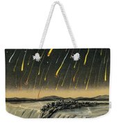 Leonid Meteor Shower Of 1833 Weekender Tote Bag