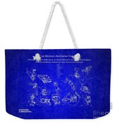 Les Moteurs Auxiliaries Francais Weekender Tote Bag