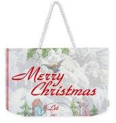 Let It  Snow Let It Snow  Let It Snow Weekender Tote Bag