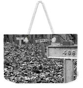 Letchworth Village Cemetery Weekender Tote Bag