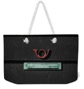 Letter Box Weekender Tote Bag by Joana Kruse