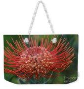 Leucospermum - Pincushion Protea - Tropical Sunburst Protea Flower Hawaii Weekender Tote Bag