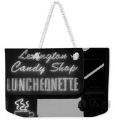 Lexington Candy Shop In Black And White Weekender Tote Bag