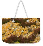 Lichened Rocks Weekender Tote Bag
