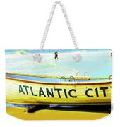 Lifeboat Atlantic City New Jersey Weekender Tote Bag