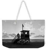 Lifeguard Hut On The Beach, 22nd St Weekender Tote Bag