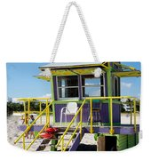 Lifeguard Station Weekender Tote Bag