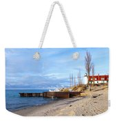 Light And Beach Weekender Tote Bag