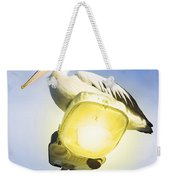 Light Pelican Weekender Tote Bag