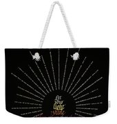 Light Shine Weekender Tote Bag by Judy Dodds