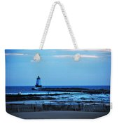 Lighthouse At Dusk Weekender Tote Bag