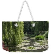 Lily Pond - Monets Garden Weekender Tote Bag